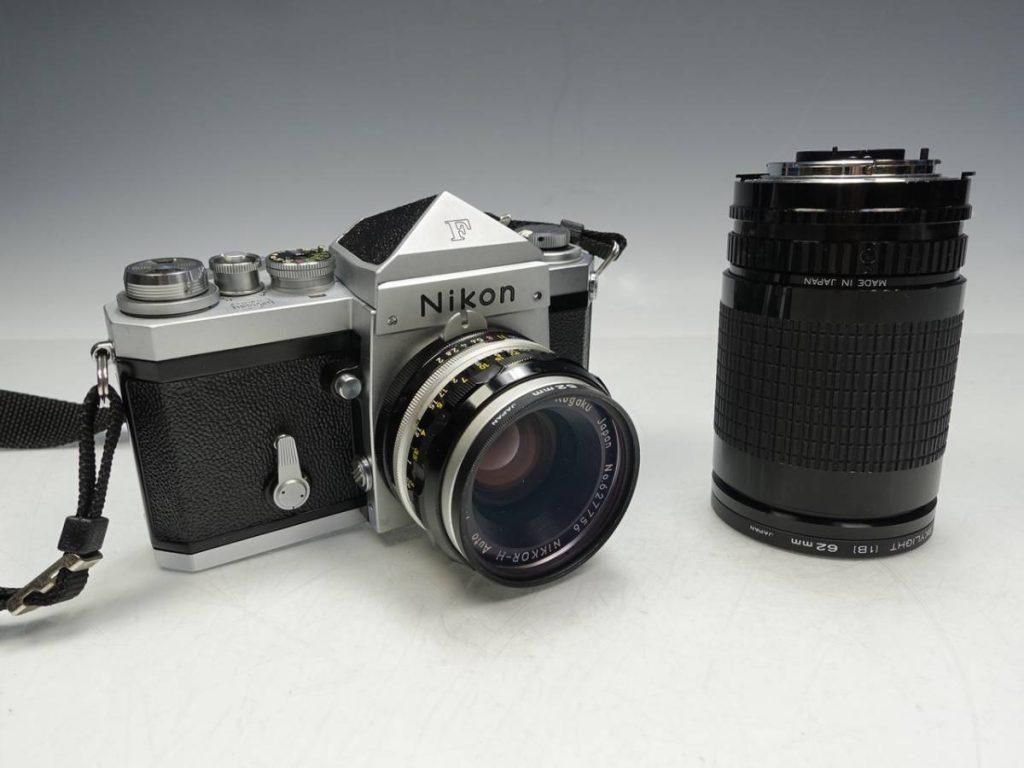 【骨董品】カメラ「Nikon F/レンズMACRO 35-140mm」を買取致しました。
