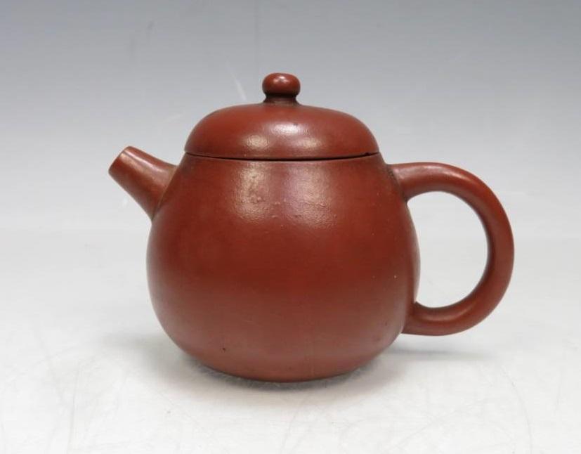 【朱泥急須・茶器】無銘「朱泥急須」を買取致しました。