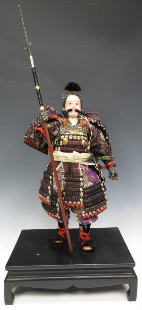 【骨董品】永徳斎 「古人形 武士」を買取致しました。