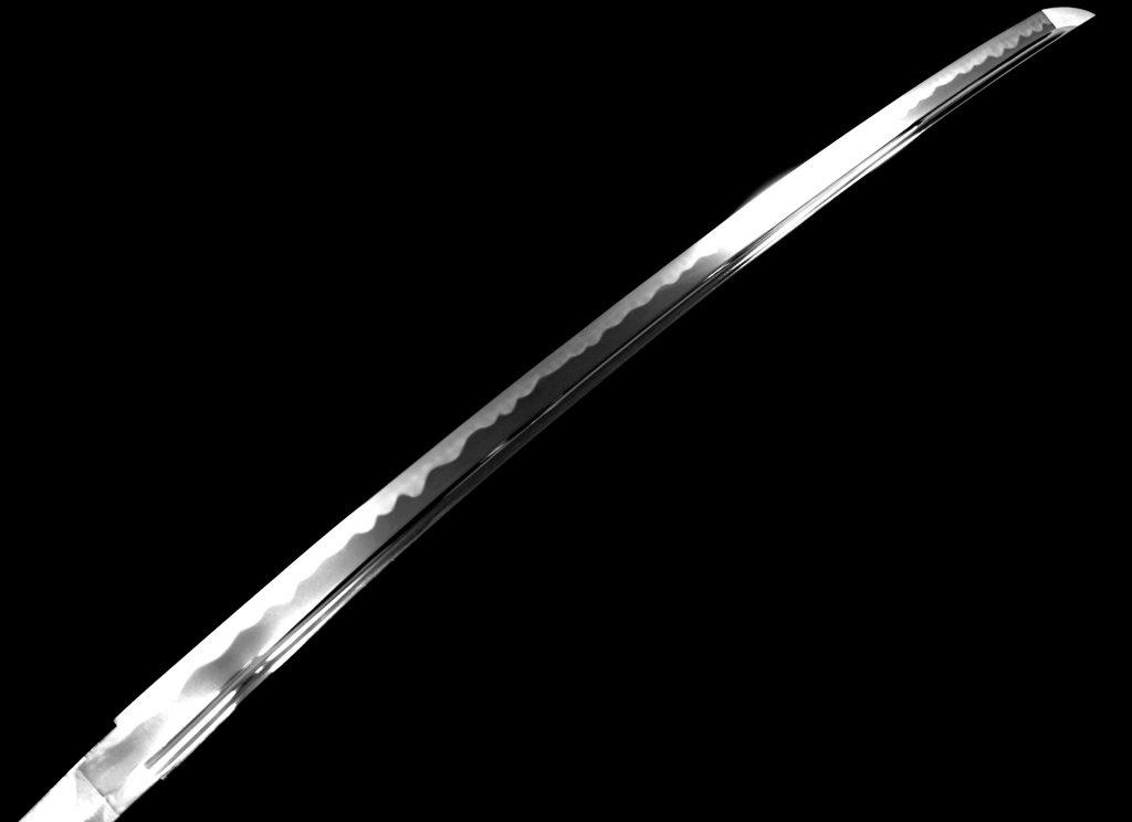 【刀剣】筑後住安光「樋彫刀身居合刀」を買取り致しました。