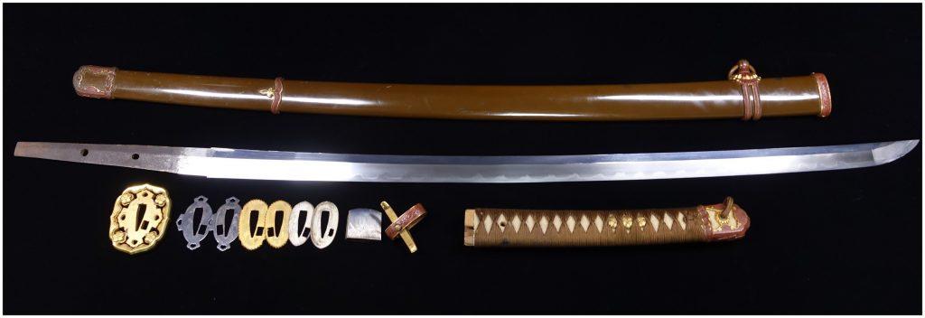【刀剣】相州扇子谷伊勢大塚源綱廣作「軍用刀剣」を買取り致しました。