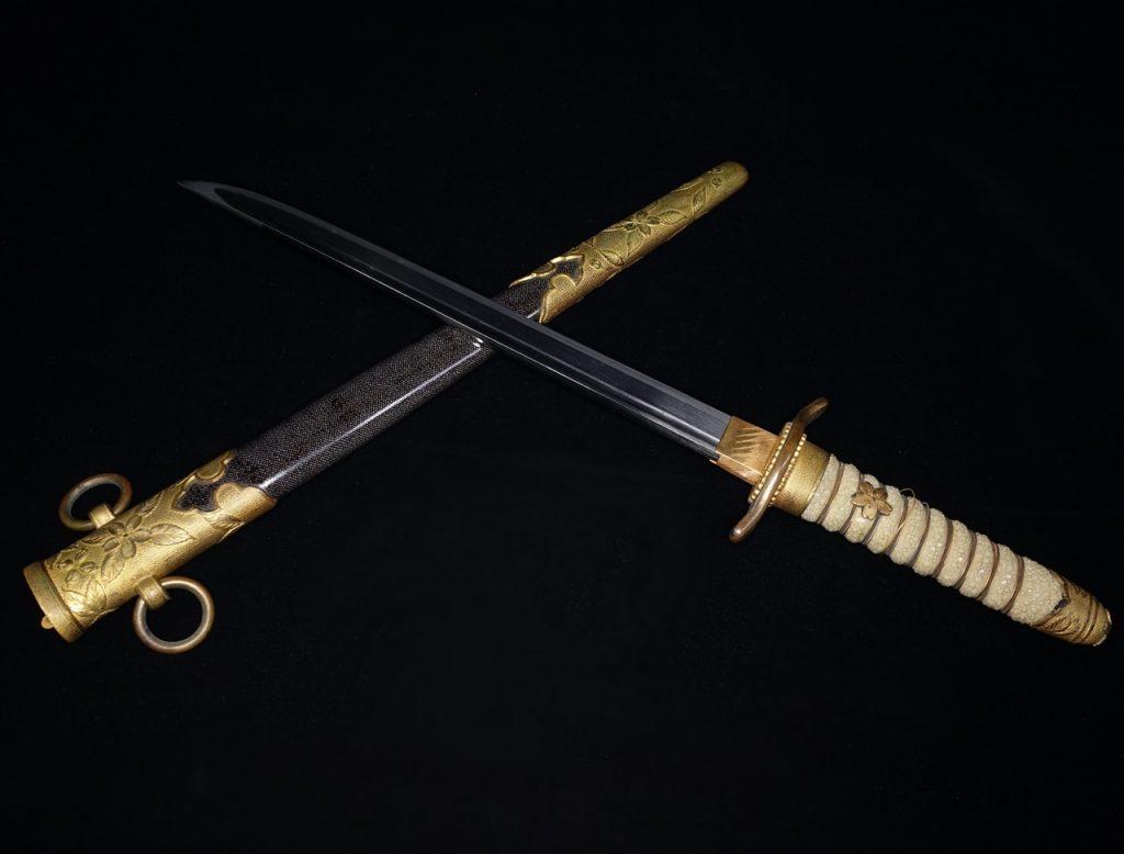 【刀剣】無銘「大日本帝国海軍士官短剣」を買取り致しました。