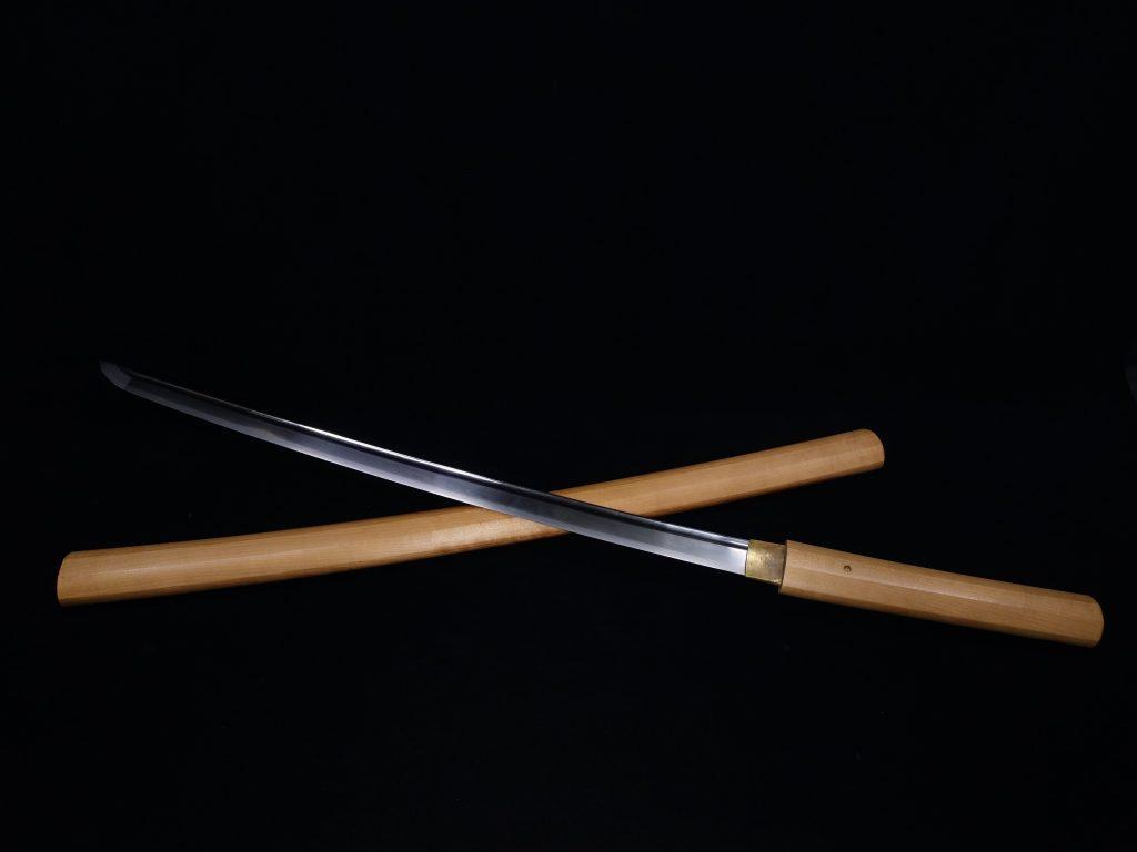 【刀剣】無銘 「刀身棒樋彫脇差」 を買取り致しました。