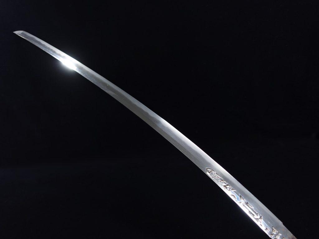 【刀剣】則重「倶利伽羅刀身彫刻」を買取り致しました。