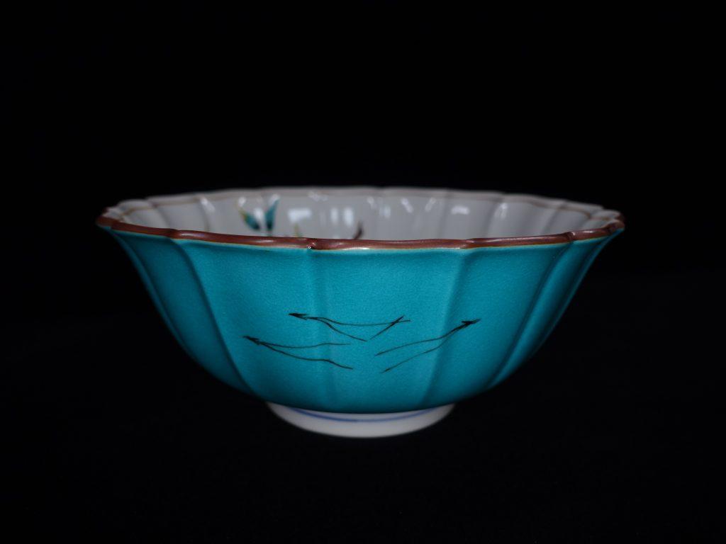 【人間国宝】吉田美統「色絵柘榴文 菓子鉢」を買取致しました。