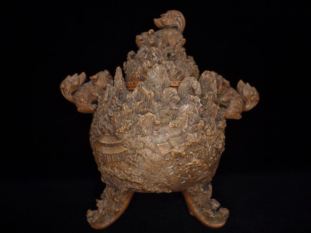 【茶道具】畑瀬武右衛門 「鍋島焼香炉」を買取致しました。
