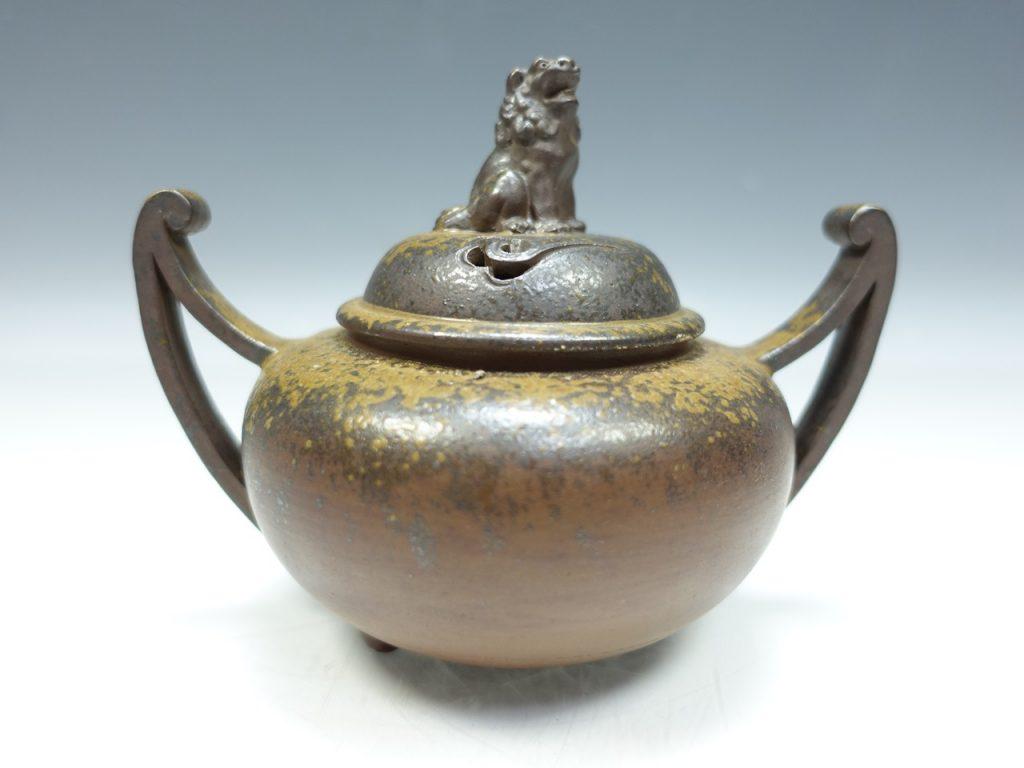 【香炉】小西陶古「備前焼 香炉」を買取致しました。