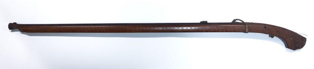 【刀剣・火縄銃】阿州山田常勝作 「火縄銃」 を買取致しました。