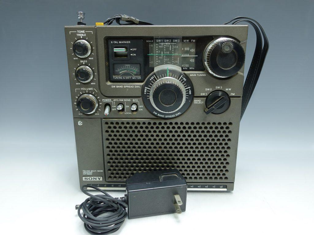 【骨董品・その他】SONY スカイセンサー「ICF-5900・Skysensor」を買取致しました。