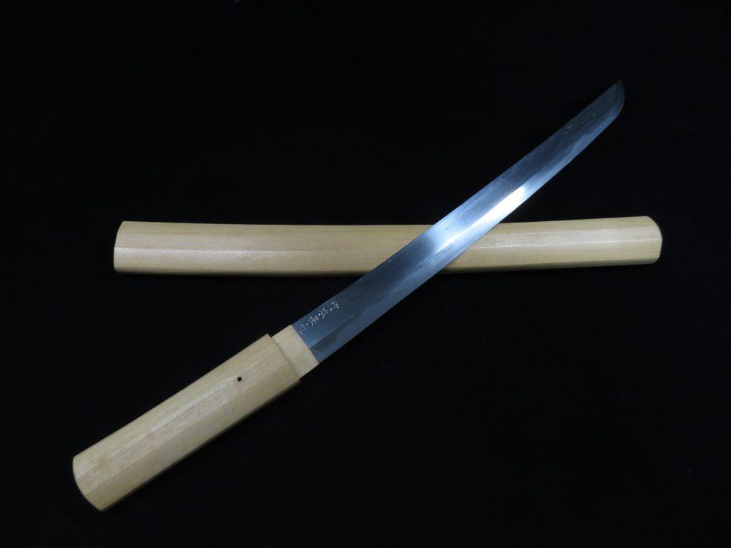 【刀剣】竹本長光「脇差」を買取り致しました。