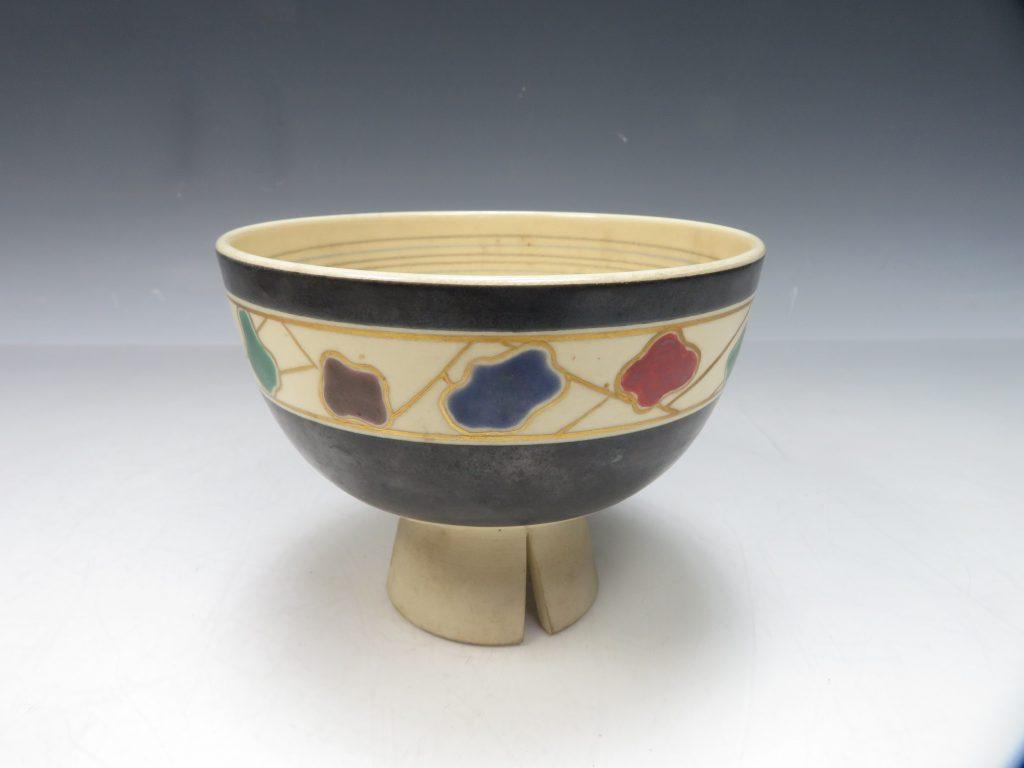 【茶碗】永楽善五郎 (十六代 即全)「色絵いつみ茶碗」を買取致しました。