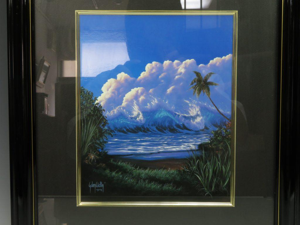 【版画 その他技法】ゲーリー・ウェルティ 『ウィンドブロウ』を買取り致しました。