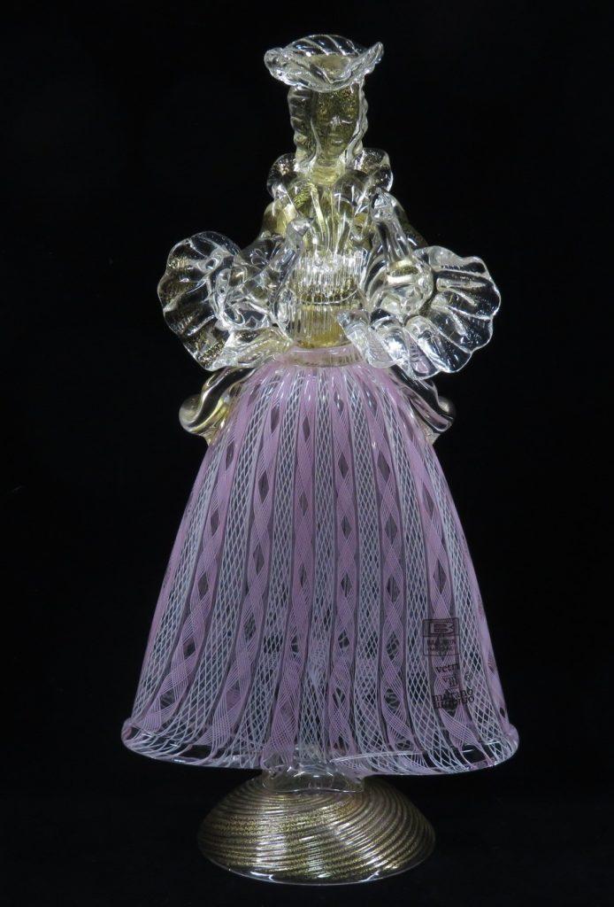 【硝子・切子】ベネチアンガラス フィギュリンを買取り致しました。