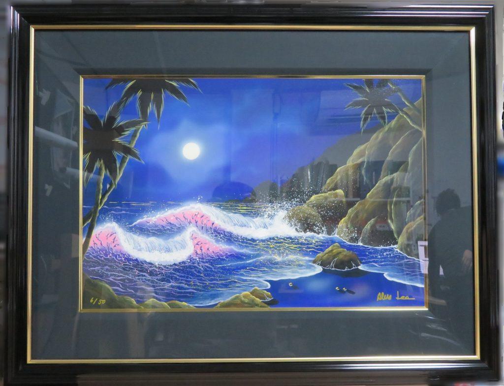 【版画 その他技法】アレックス・リー『シークレット・ジュエル』アクリル画を買取り致しました。