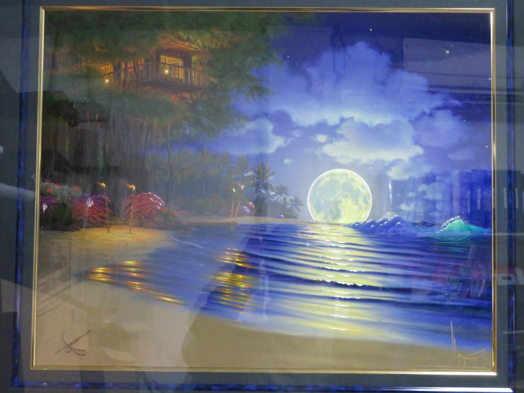 【版画 その他技法】ジョン・アル・ホーグ『ムーンリット・マジック』ジークレーを買取り致しました。