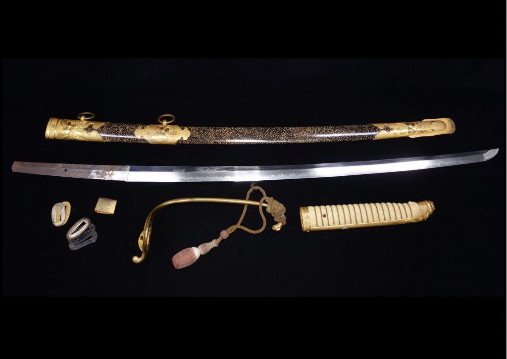 【刀剣】無銘「大日本帝国海軍士官軍刀」を買取り致しました。