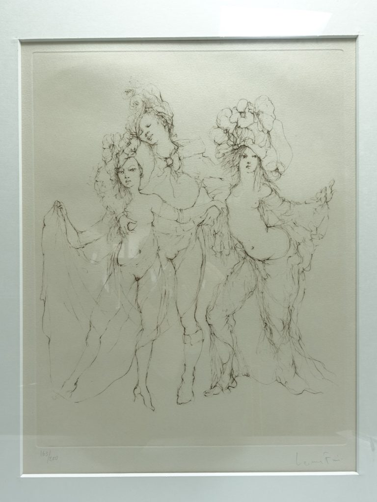 【版画 その他技法】レオノール・フィニ「姉妹(エッチング)」を買取り致しました。