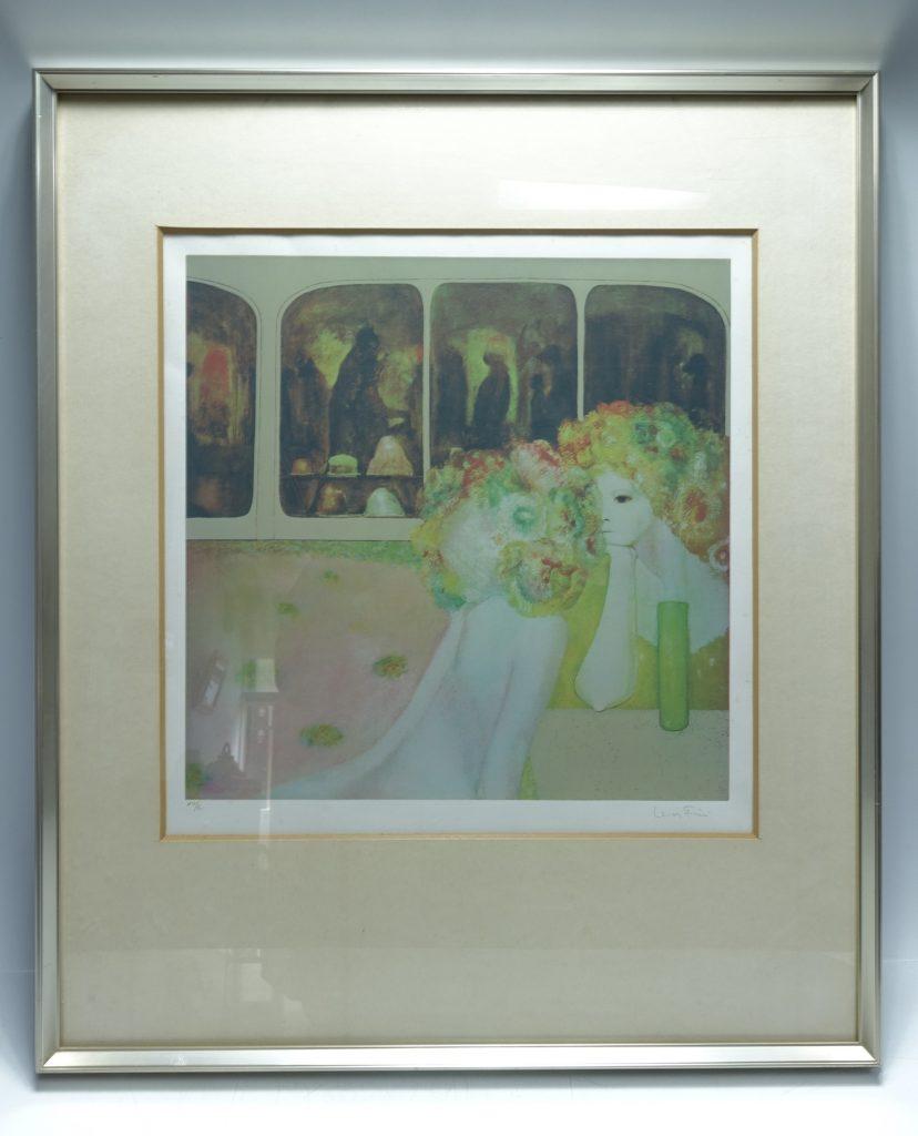 【版画(リトグラフ)】レオノール・フィニ「鏡」を買取り致しました。