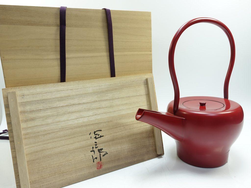 【骨董品・その他】角偉三郎 「銚子」を買取り致しました。