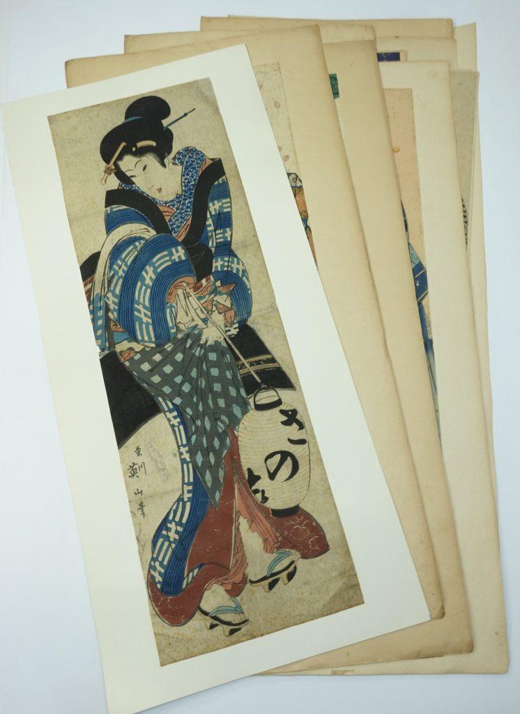 【版画(木版)】歌川豊国「美人画」を買取り致しました。