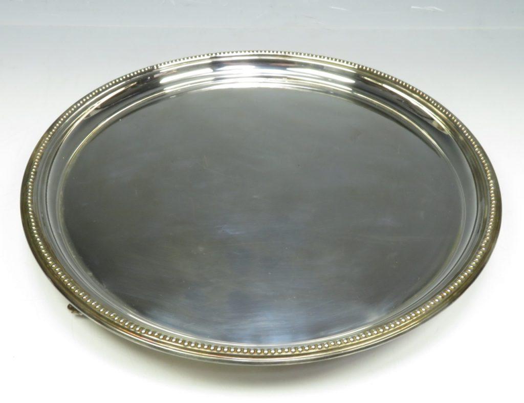 【銀製 洋食器】イギリス製「シルバープレート」を買取り致しました。