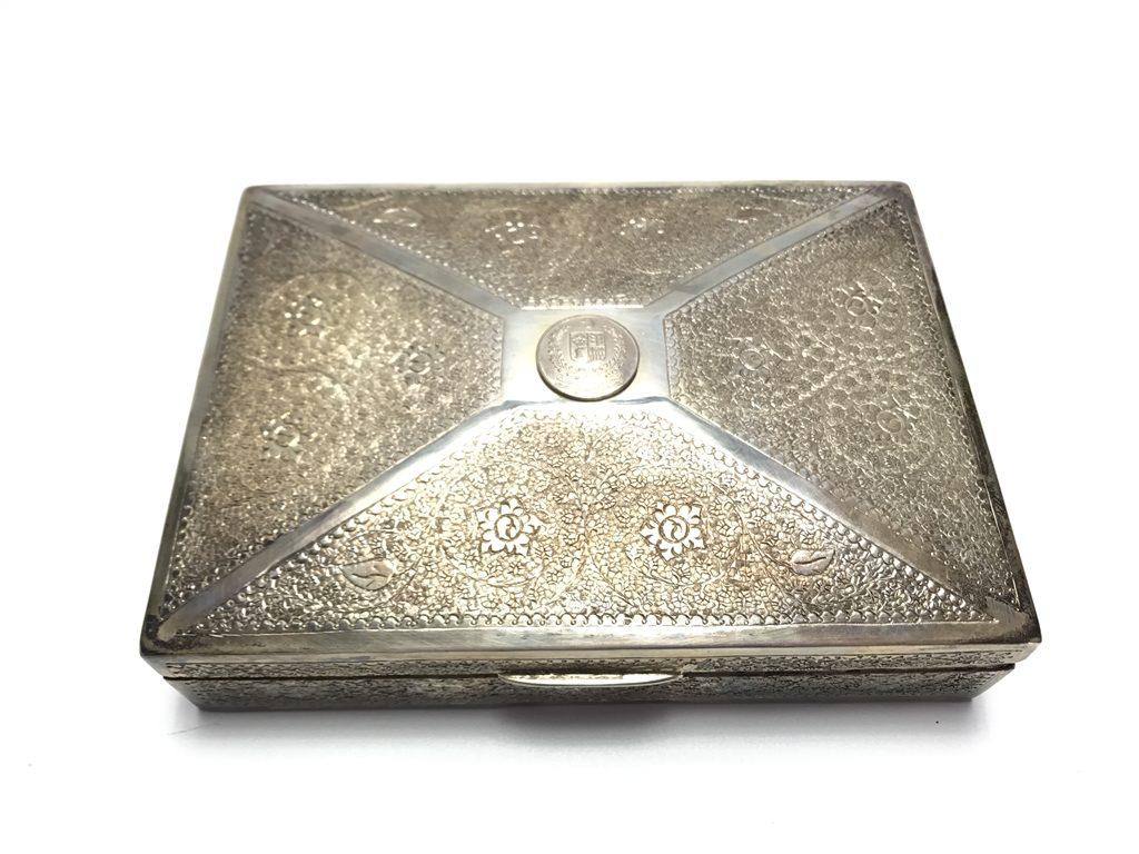 【金工品その他】KASHMIR SILVER WORKS 「彫銀小箱」を買取り致しました。