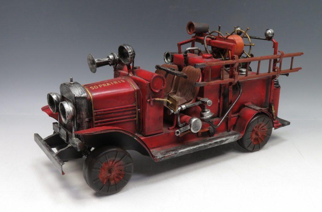 【ブリキ玩具】「消防車」を買取り致しました。