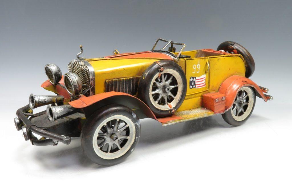 【ブリキ玩具】クラッシック レーシングカーを買取り致しました。