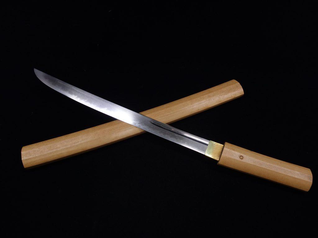 【刀剣】無銘「平造櫃彫白鞘」を買取り致しました。