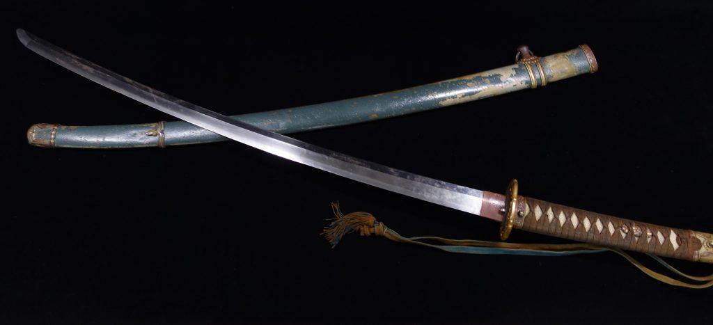 【刀剣】名古屋住貞重「大日本帝国陸海軍 軍刀 」を買取り致しました。