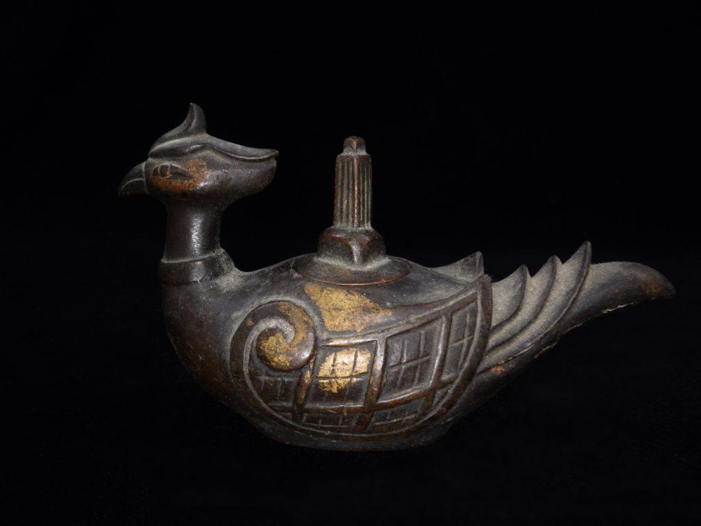 【銅製品】秦蔵六造 「瑞鳥形銅香炉」を買取り致しました。