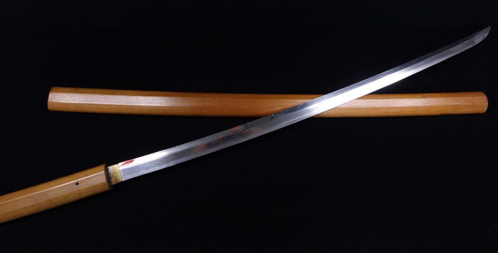 【刀剣】 加州藤原家次作「白鞘刀」を買取り致しました。