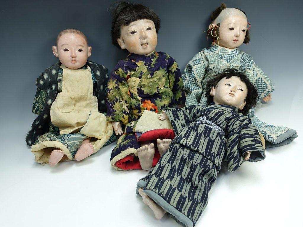 【節句物】 光龍斉「市松人形」を買取り致しました。