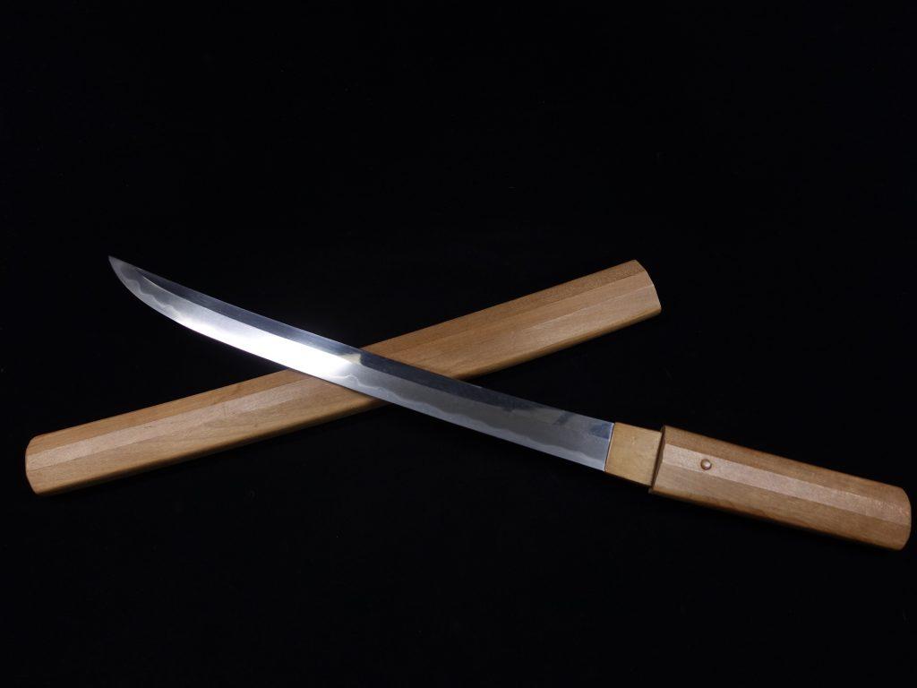 【刀剣】肥後国住人宗景作「白鞘脇差」を買取り致しました。