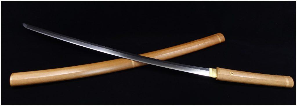 【刀剣】 備州尾道住五阿弥貞信「白鞘脇差」を買取り致しました。