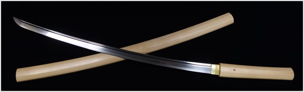 【刀剣】 備前國住長船清光作「櫃刀身彫白鞘(特別貴重刀剣) 」を買取り致しました。