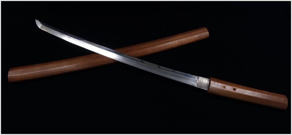 【刀剣】備卅長船祐定「白鞘脇差」を買取り致しました。