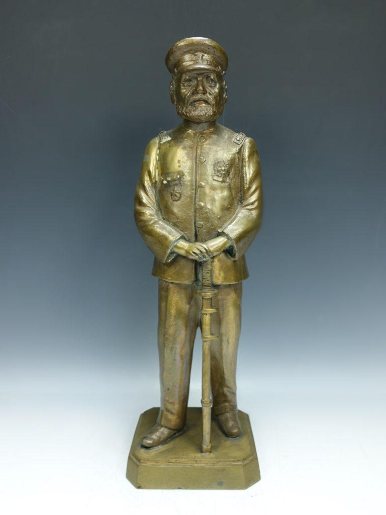 【銅製品】乃木希典 ブロンズ像を買取り致しました。