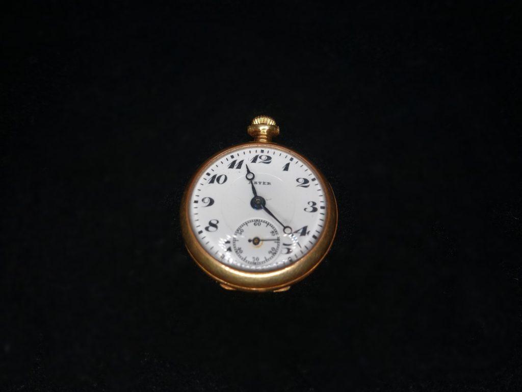 【西洋美術・その他】ASTER 「18k製 懐中時計」を買取り致しました。