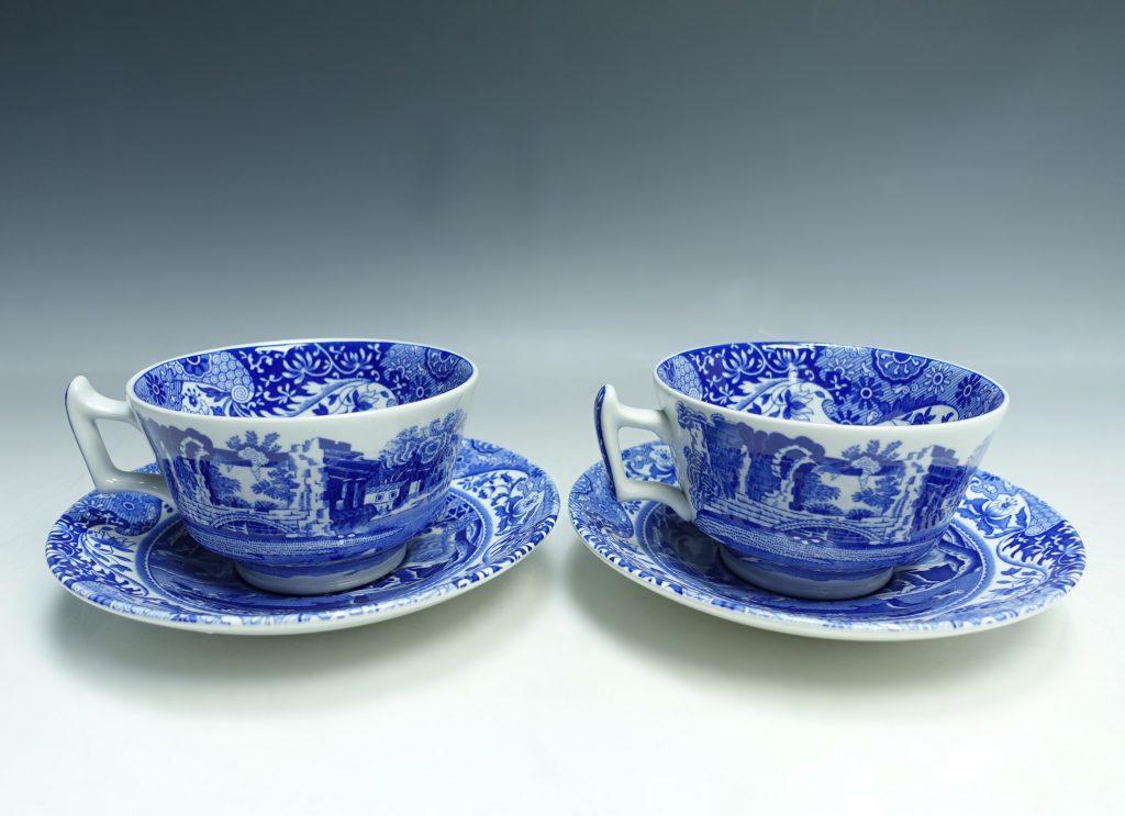 【西洋美術・その他】Spode 「ブルーイタリアン カップ&ソーサー」を買取り致しました。