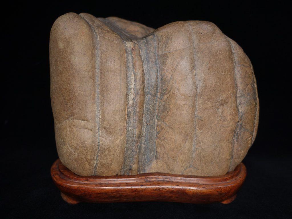【水石・鑑賞石】瀬田川石 虎石を買取り致しました。