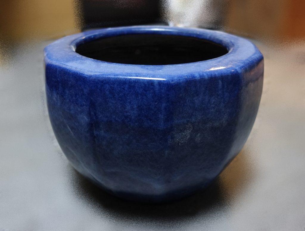 【火鉢】無銘「海鼠角火鉢」を買取り致しました。