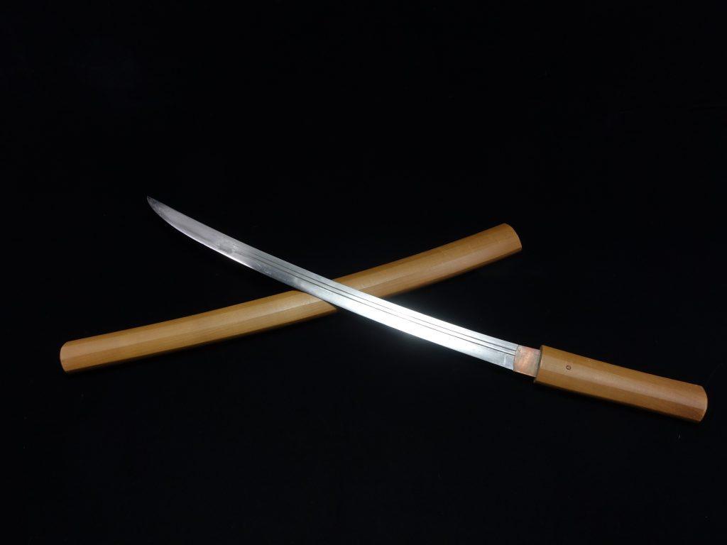 【刀剣】 銘:信長「白鞘脇差」を買取り致しました。