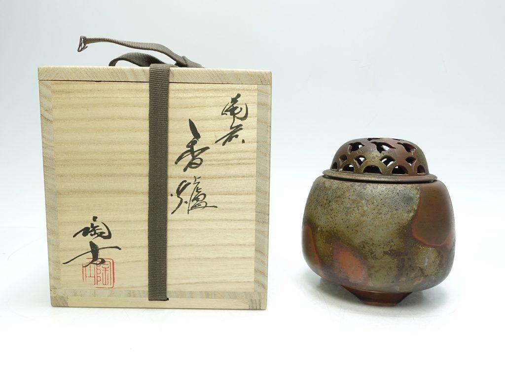 【作家物(陶器)】小西陶古 「備前香爐」を買取り致しました。