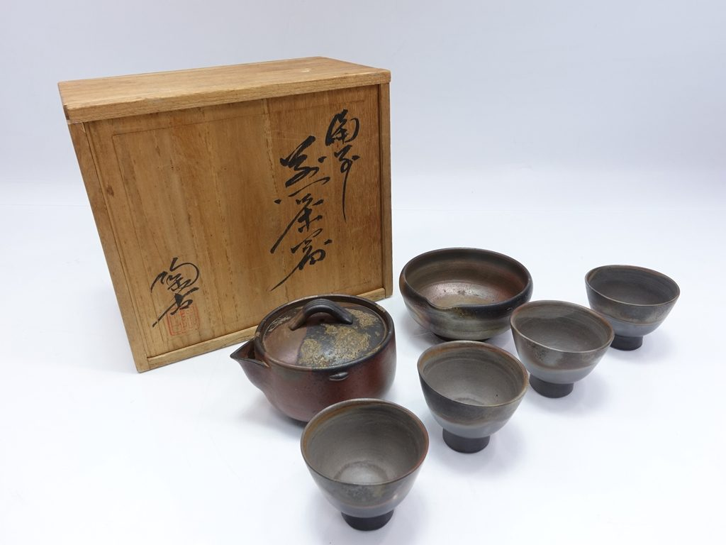 【作家物(陶器)】小西陶古「備前煎茶器」を買取り致しました。