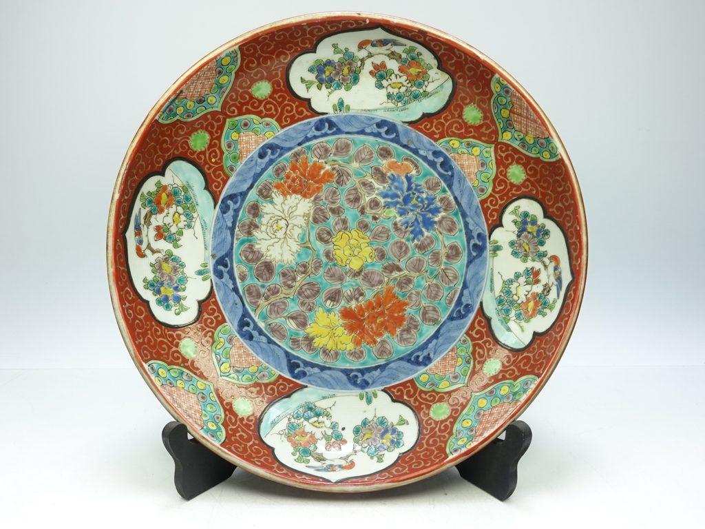 【陶磁器 その他】 成化年製「伊万里色絵大皿」を買取り致しました。