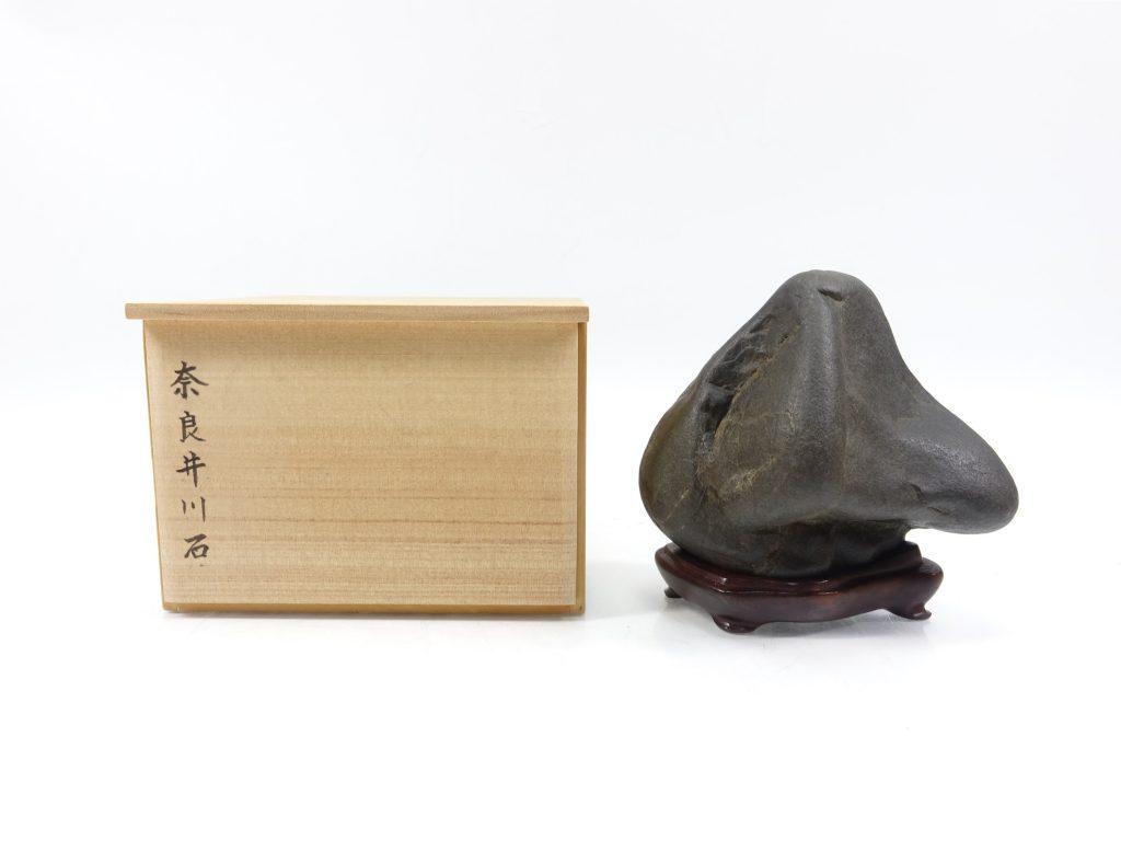 【水石】 奈良井川石「広寿」を買取り致しました。